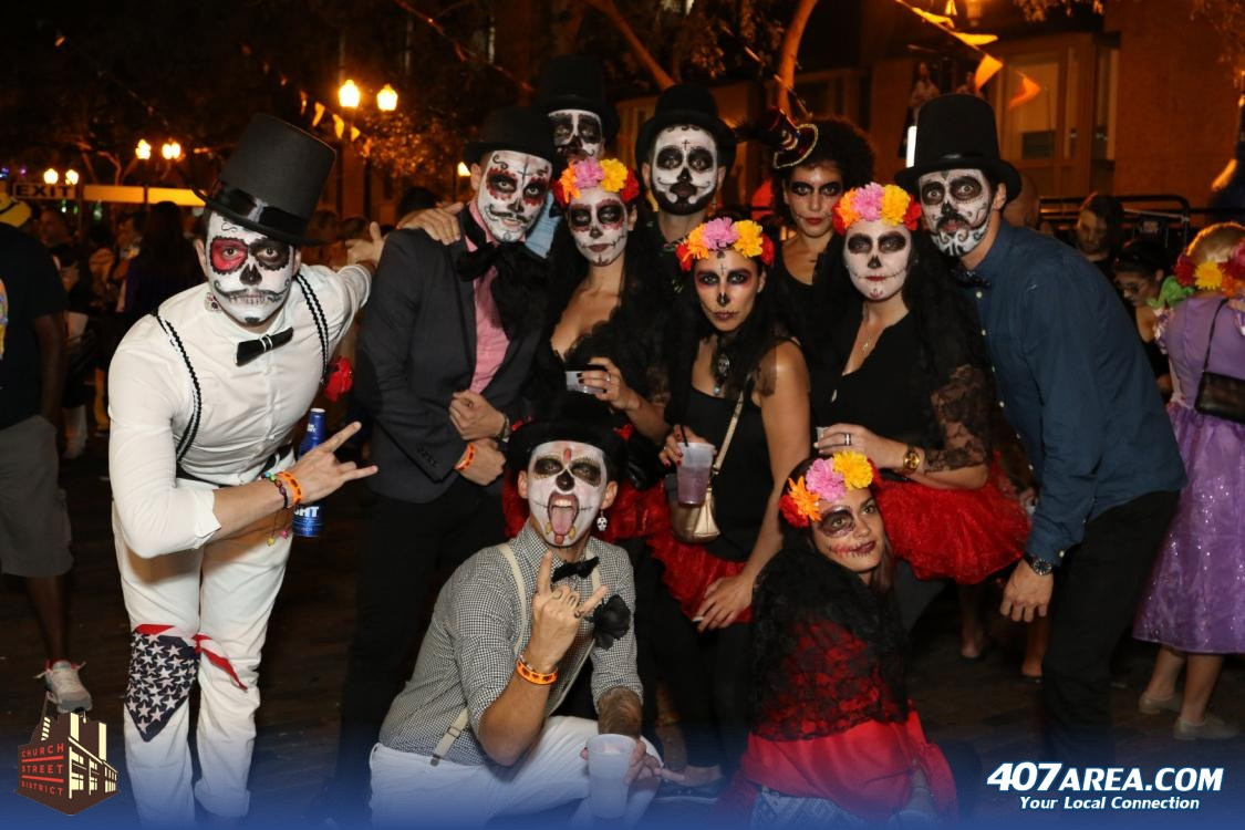 Orlando's Hottest Halloween Party Hosted on Church Street