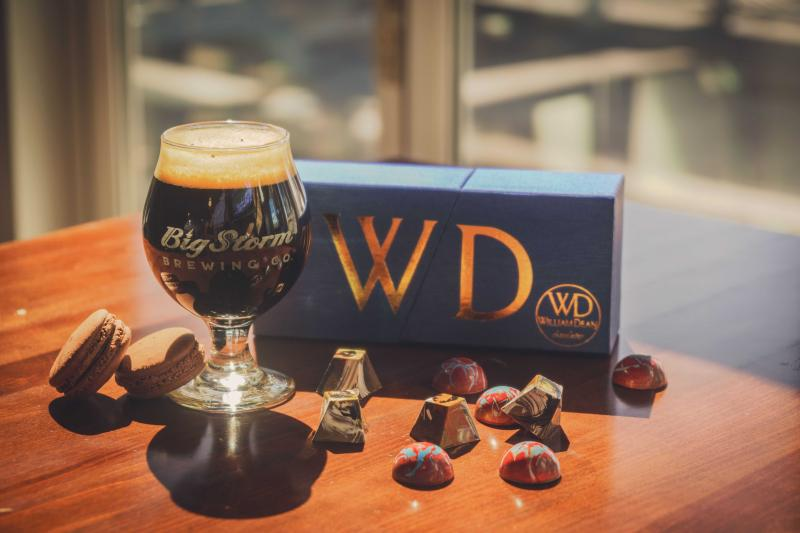 William Dean Chocolates and Big Storm Brewery Team Up to Create a Chocolate Beer