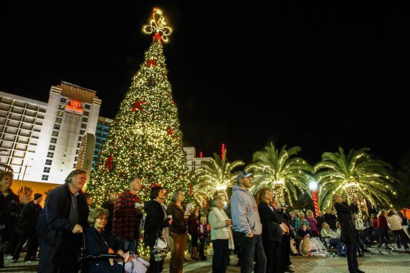 Christmas In Daytona Beach 2021 Christmas Lights In Daytona Beach