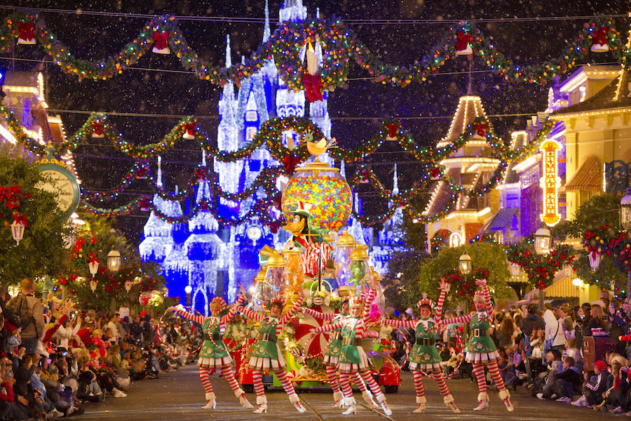christmas at disney world in orlando - Christmas In Disney