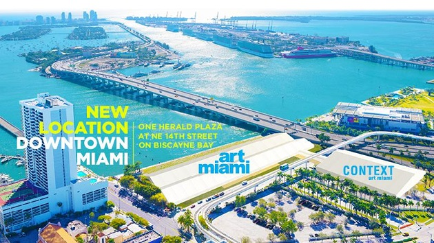 Art Miami Opens December 6 With A New Location