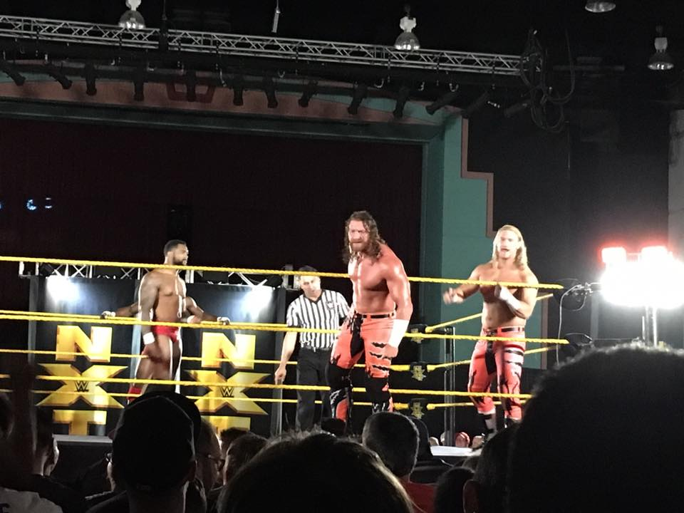WWE NXT Returns To Tampa's University Area CDC On December 9th