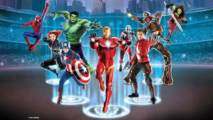 'Marvel Universe Live! Age of Heroes' Comes To Tampa's Amalie Arena January 5-7