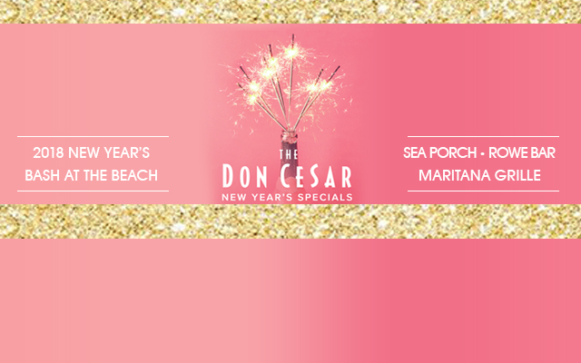 Don CeSar Hotel's Rowe Bar Hosting New Year's Bash At The Beach