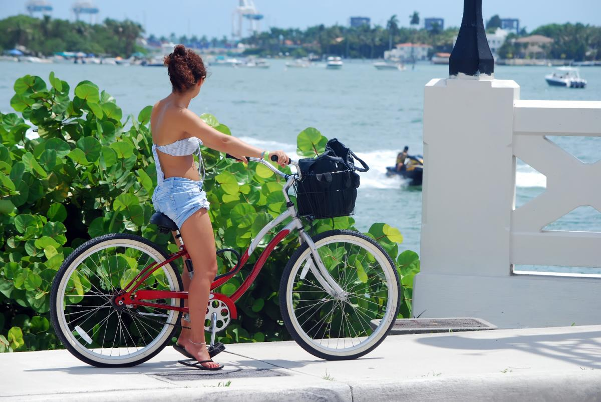 Ditch Your Walking Shoes, Explore Beautiful Miami Beach on Two Wheels