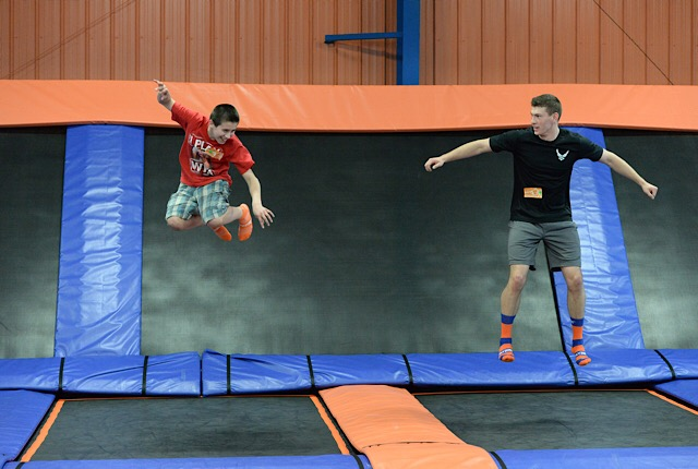 Take Flight With The Family At Sky Zone Tampa's Noon Year's Eve December 31st