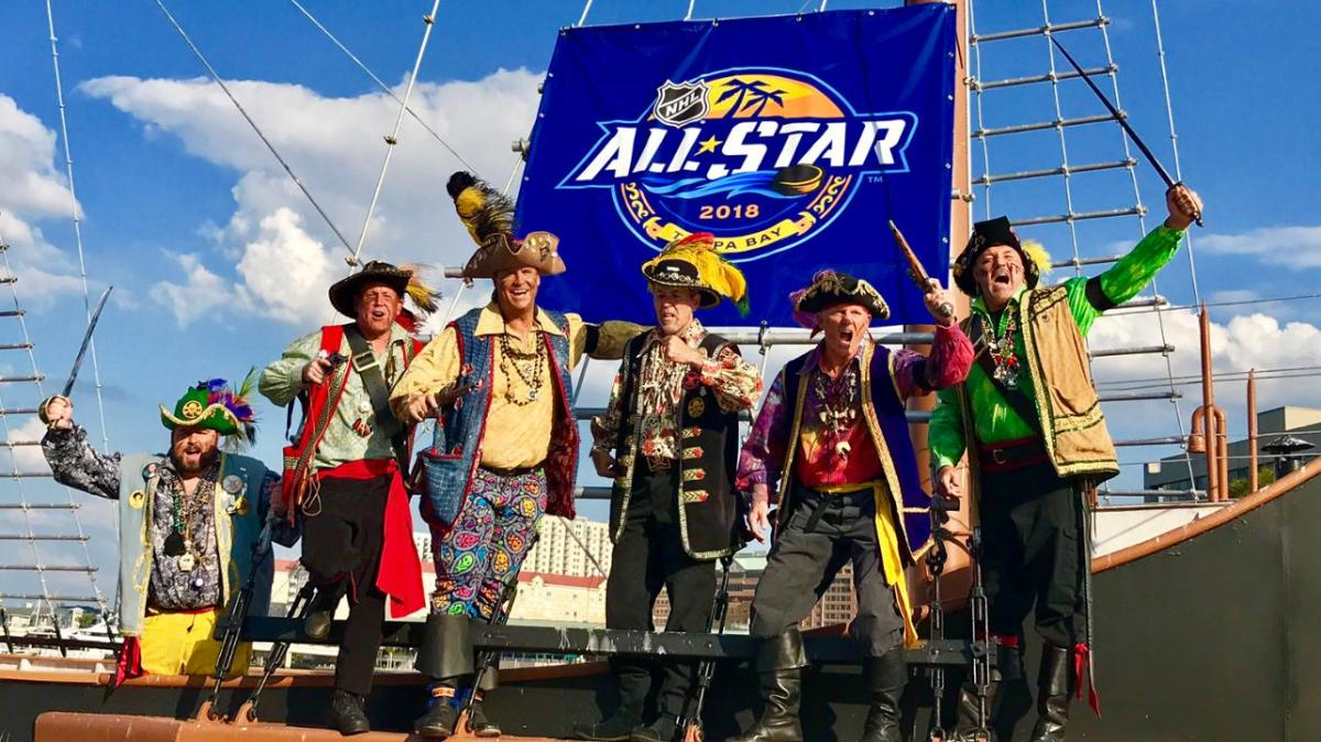 Here's Everything Happening at the 2018 NHL All-Star Weekend In Tampa