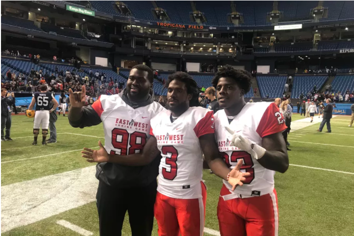West Team Steals Victory in 93rd Annual East-West Shrine Game
