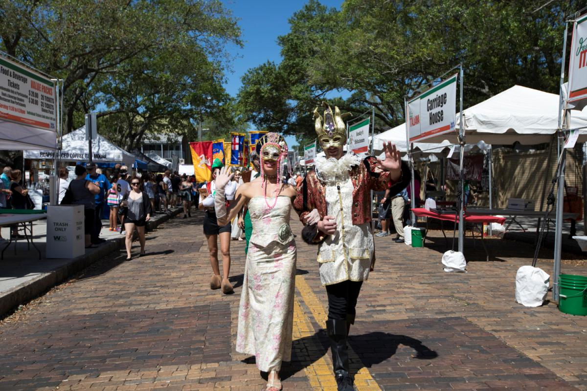 Festa Italiana Tampa 2018 Celebrates Vino, Food & More April 5, 7-8 in Ybor City