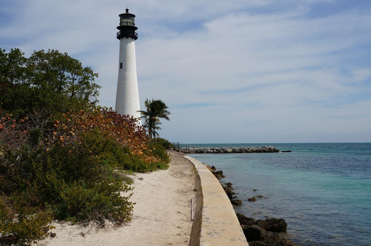 Visit Cape Florida State Park in Key Biscayne