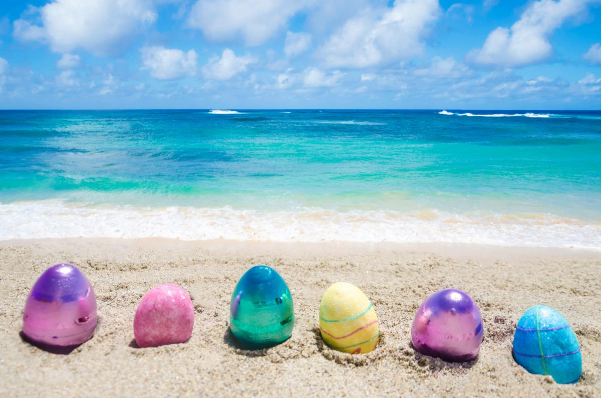 Easter Sunday Grand Buffet and Egg Hunt at Blockade Runner Beach Resort