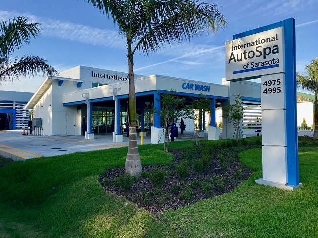 The All-New International Auto Spa Opens This Wednesday in Sarasota