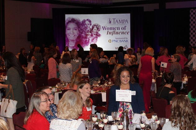 Tampa Chamber Women Of Influence Keynote Address Encourages Women to 'Raise Your Hand'