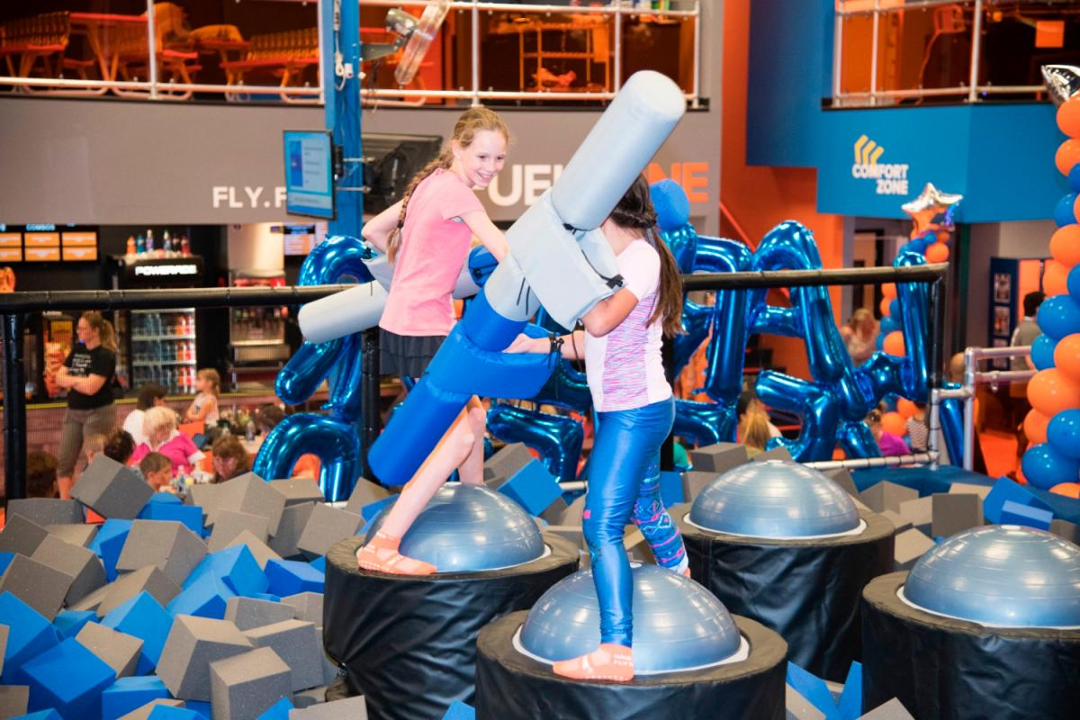 Enjoy Fun Growing by Leaps and Bounds at Sky Zone Trampoline Park's Summer Camp in Brandon