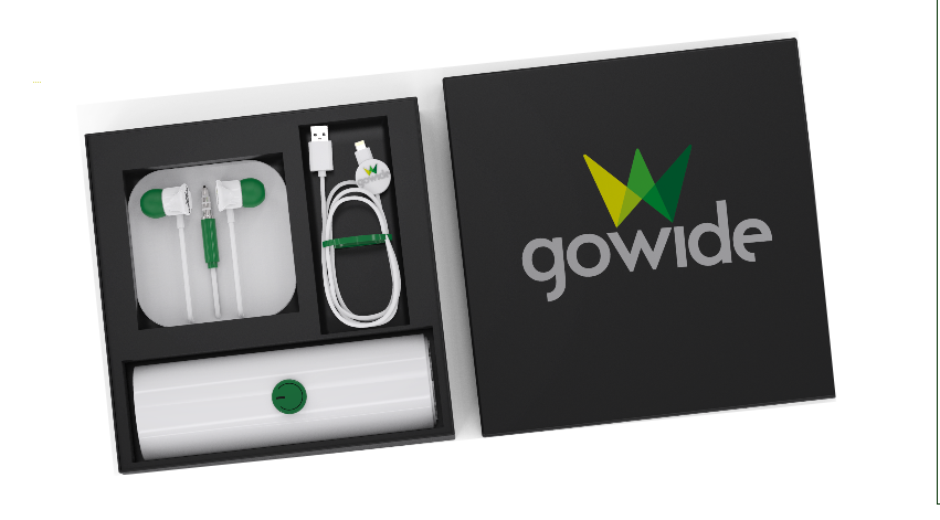 GoWide TG Revolutionizes Chargers And B2B Branding