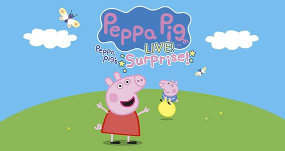 Peppa Pig Live! Returns To Clearwater's Ruth Eckerd Hall Thursday, May 24