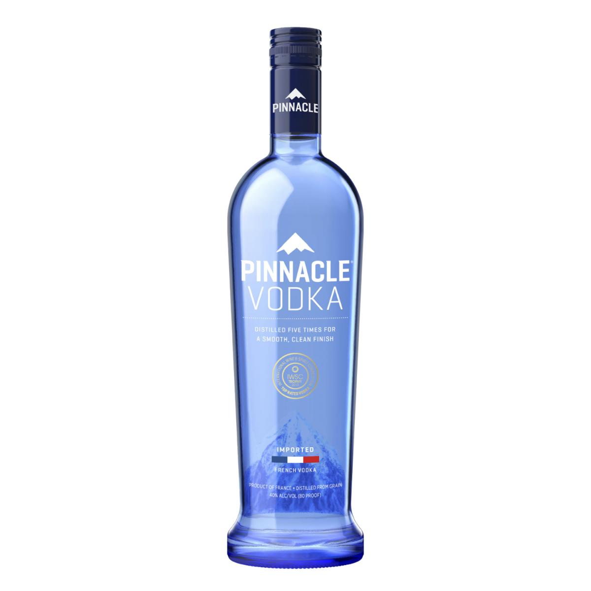 Pinnacle Original Vodka - In a Class, or in a Glass, All By Itself