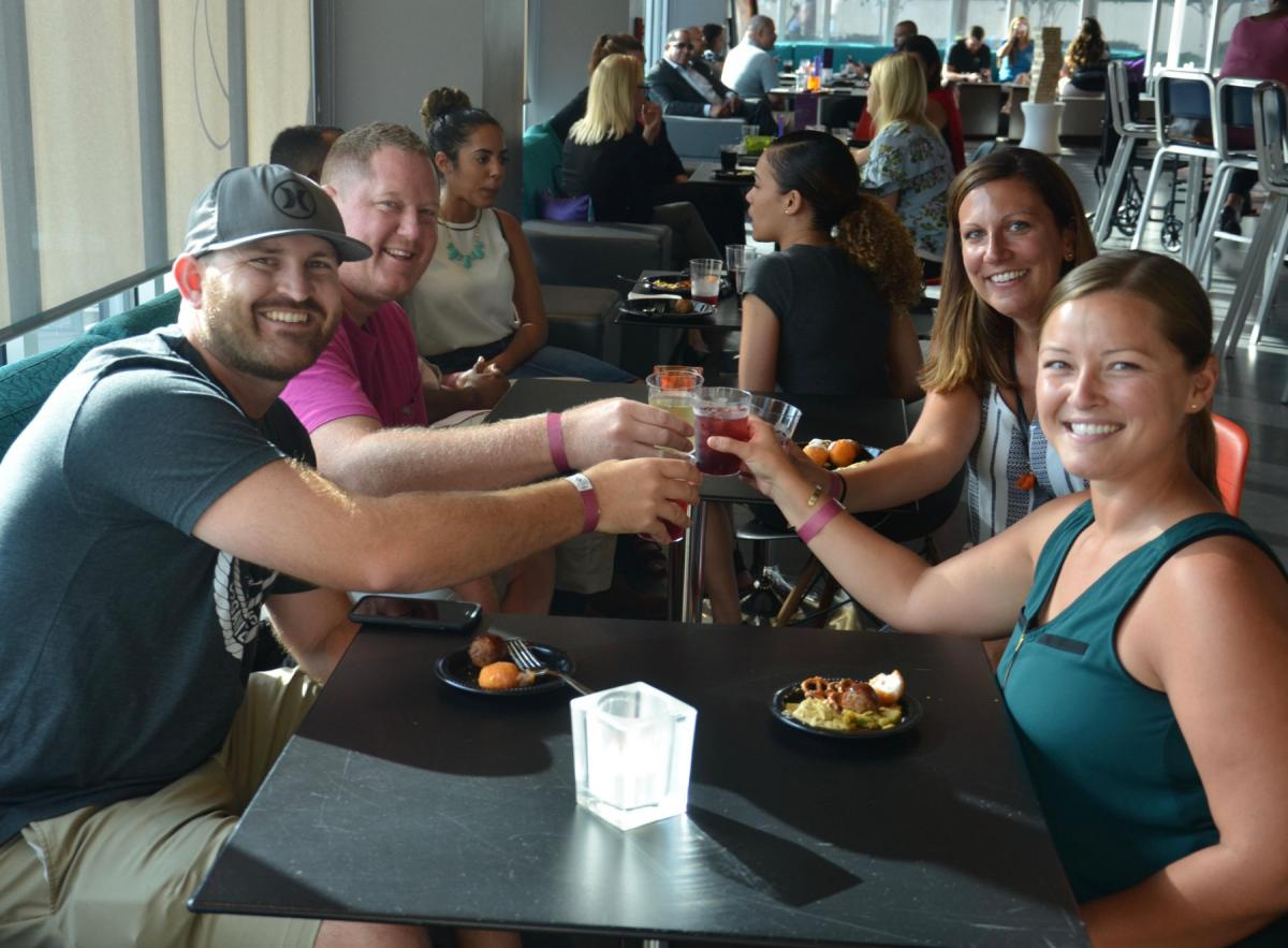 Wine Down Wednesday at Aloft Tampa Gives No Reasons To Whine!