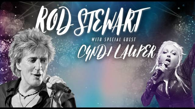 The Summer Concert In Orlando: Rod Stewart And Cyndi Lauper Live At The Amway Center