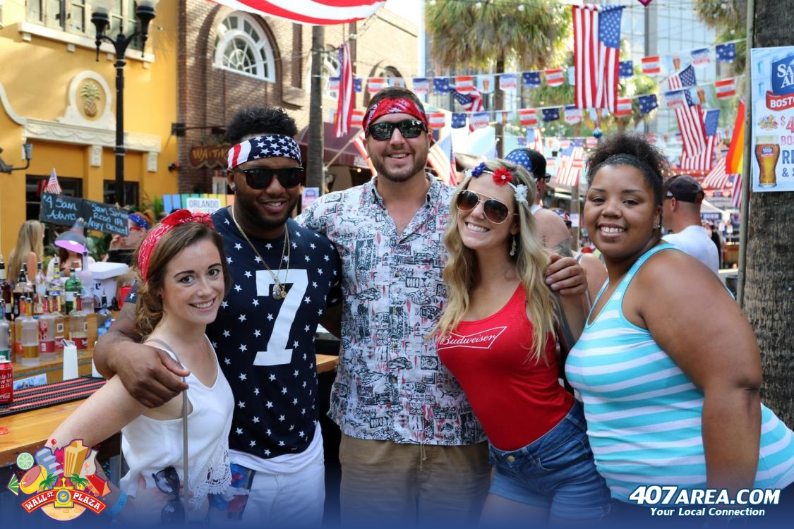 Wall Street Plaza Hosts Two Huge Patriotic Block Parties This 4th Of July In Downtown Orlando