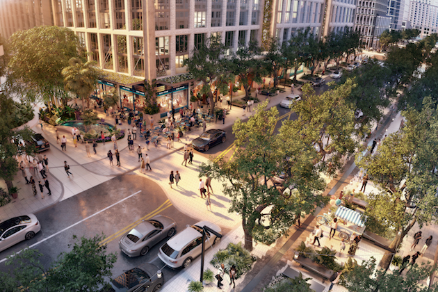 Strategic Property Partners Reveals Design For Public Spaces In New Water Street Tampa District