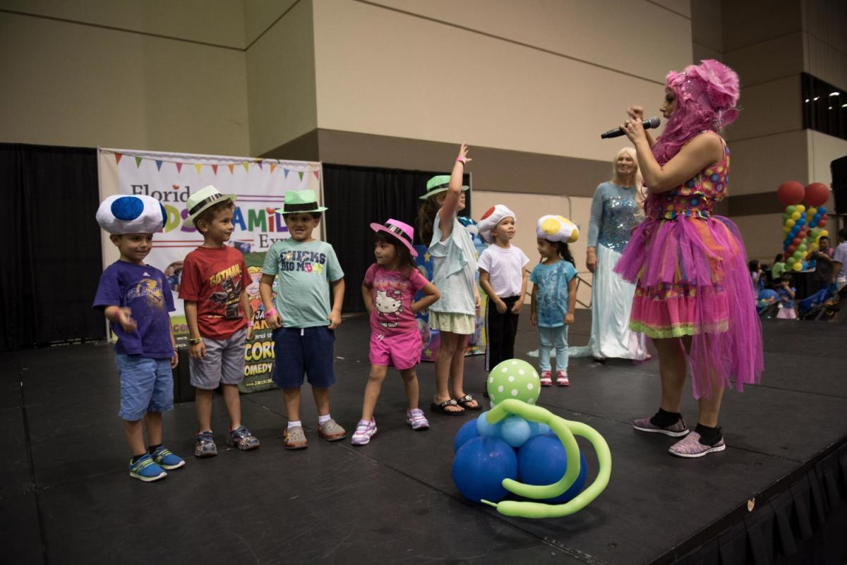 It S All Fun And Games At The Central Florida Family Kids Expo