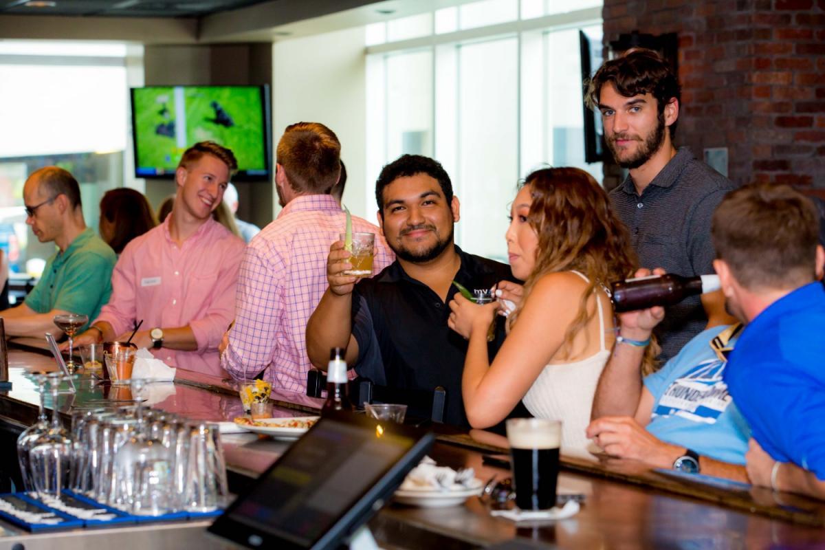 813area Launches Localite Program at District Tavern