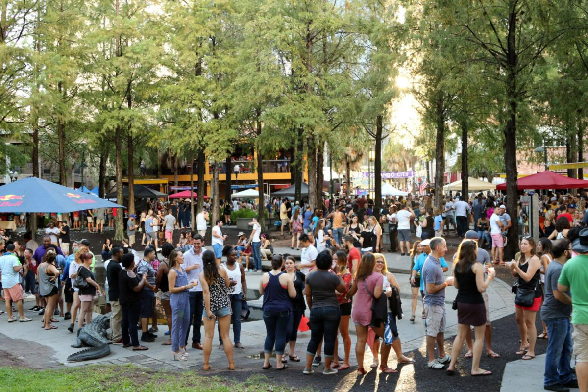 Wall St. Plaza Margarita Fest 9 Floods Downtown Orlando With Booze, Tunes, and Good Times