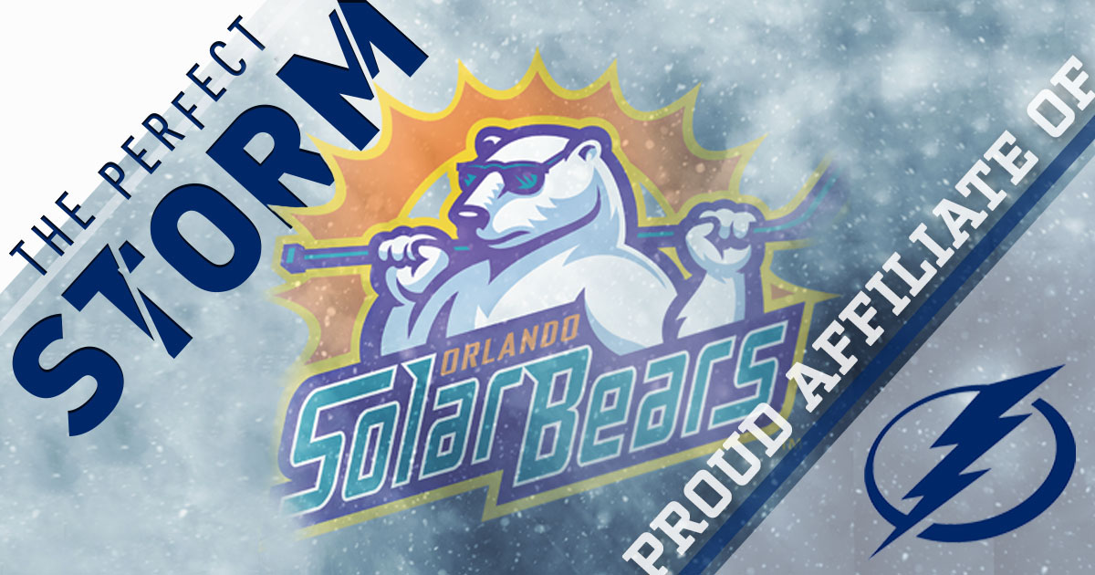 Orlando Solar Bears Reach Three-Year Agreement with the Tampa Bay Lightning