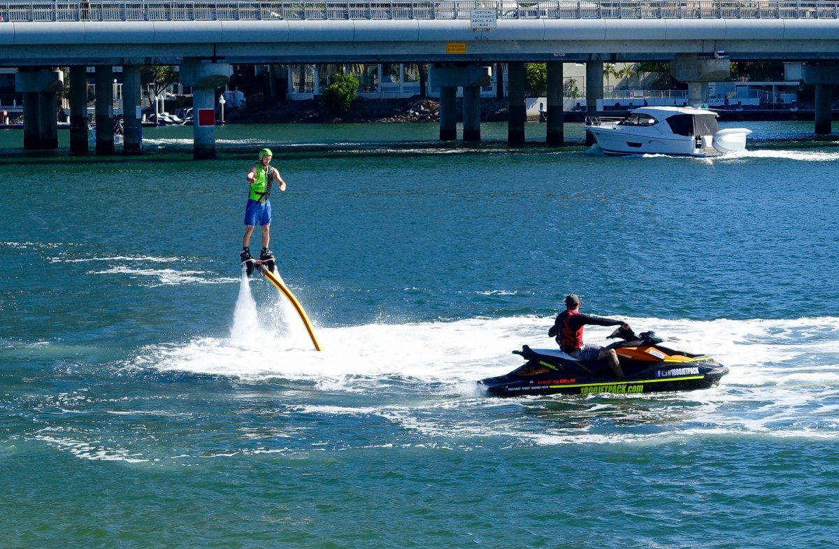 Water Jetpack and Flyboard Rentals in Miami