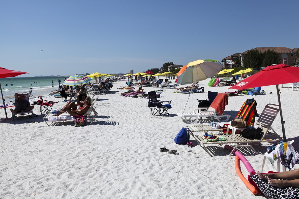 Pinellas County Beach Communities Happy To Be Out of Red Tide Path