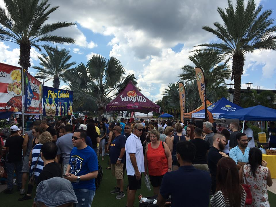 International Food And Drink Festival In Downtown Orlando
