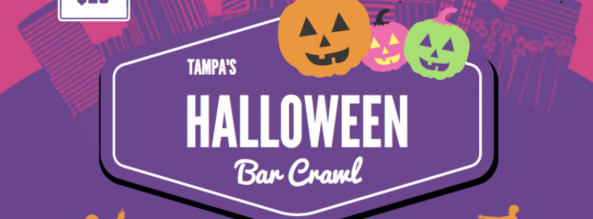 Have a Scary Amount of Fun This Halloween With Downtown Crawlers Tampa Bar Crawl on October 27