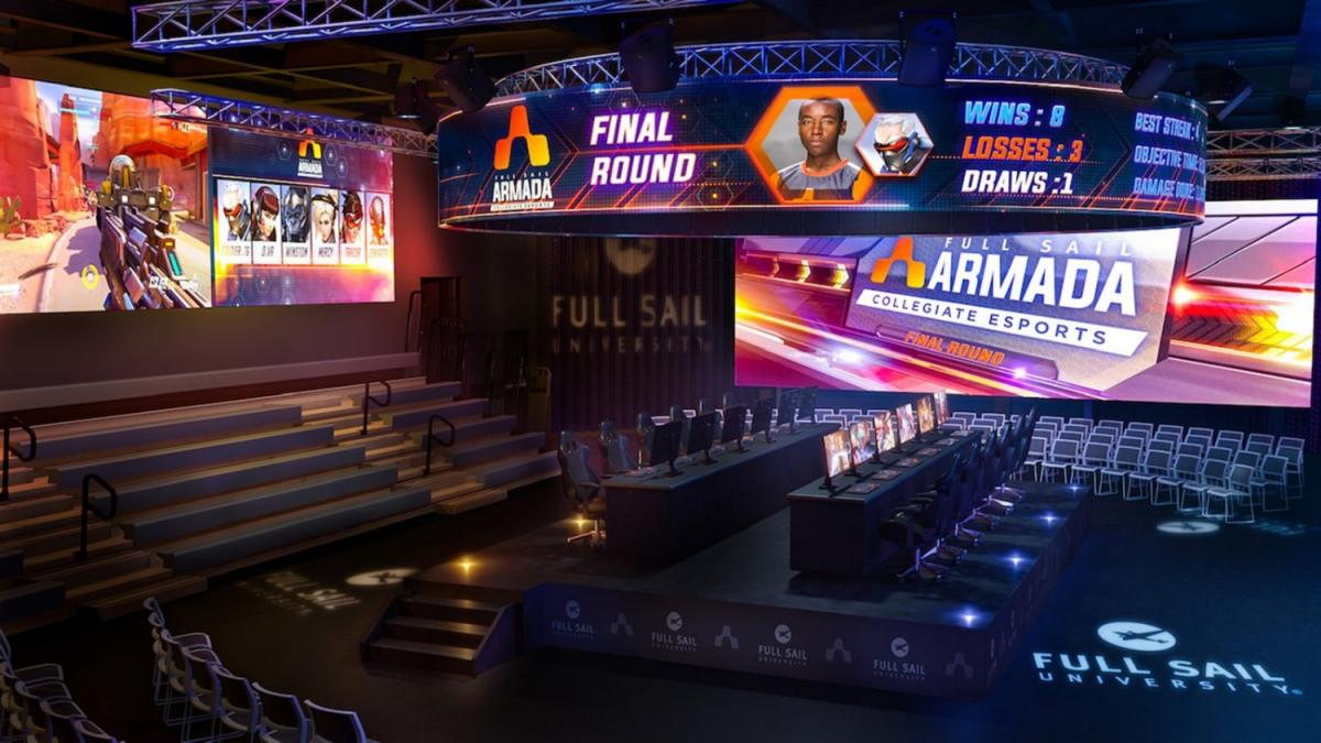 Full Sail Announces Plans to Build Esports Arena in Orlando