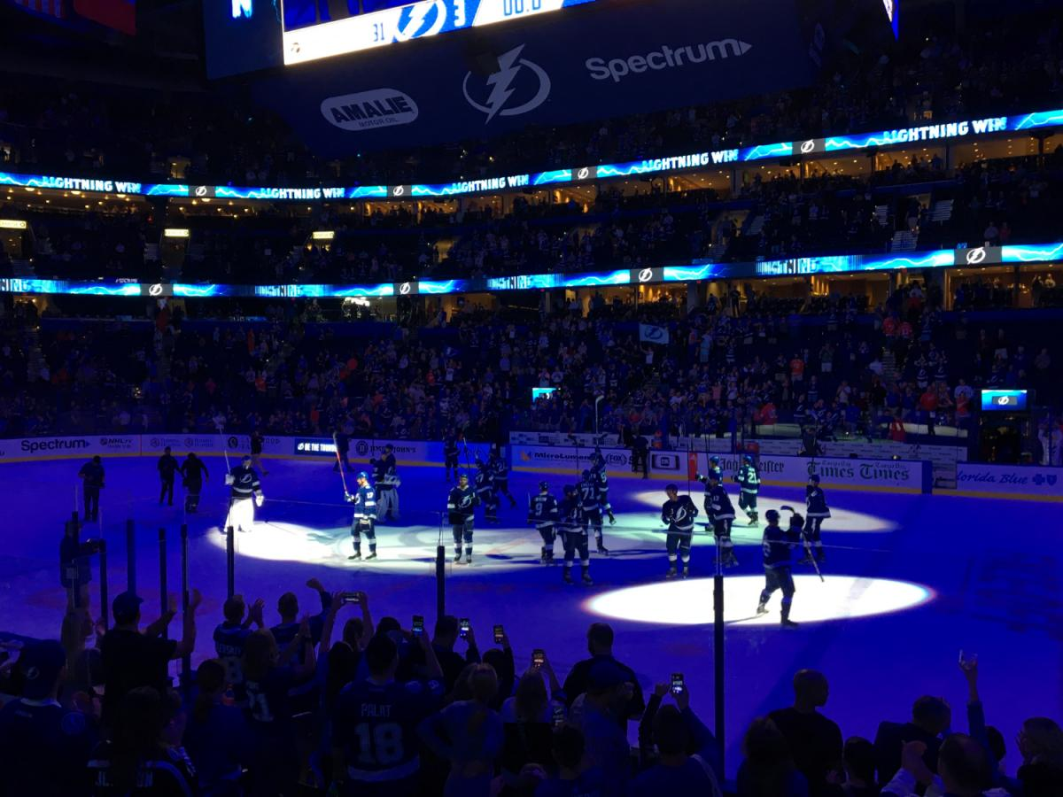 Lightning Finish Homestand Strong, Down Carolina and Detroit