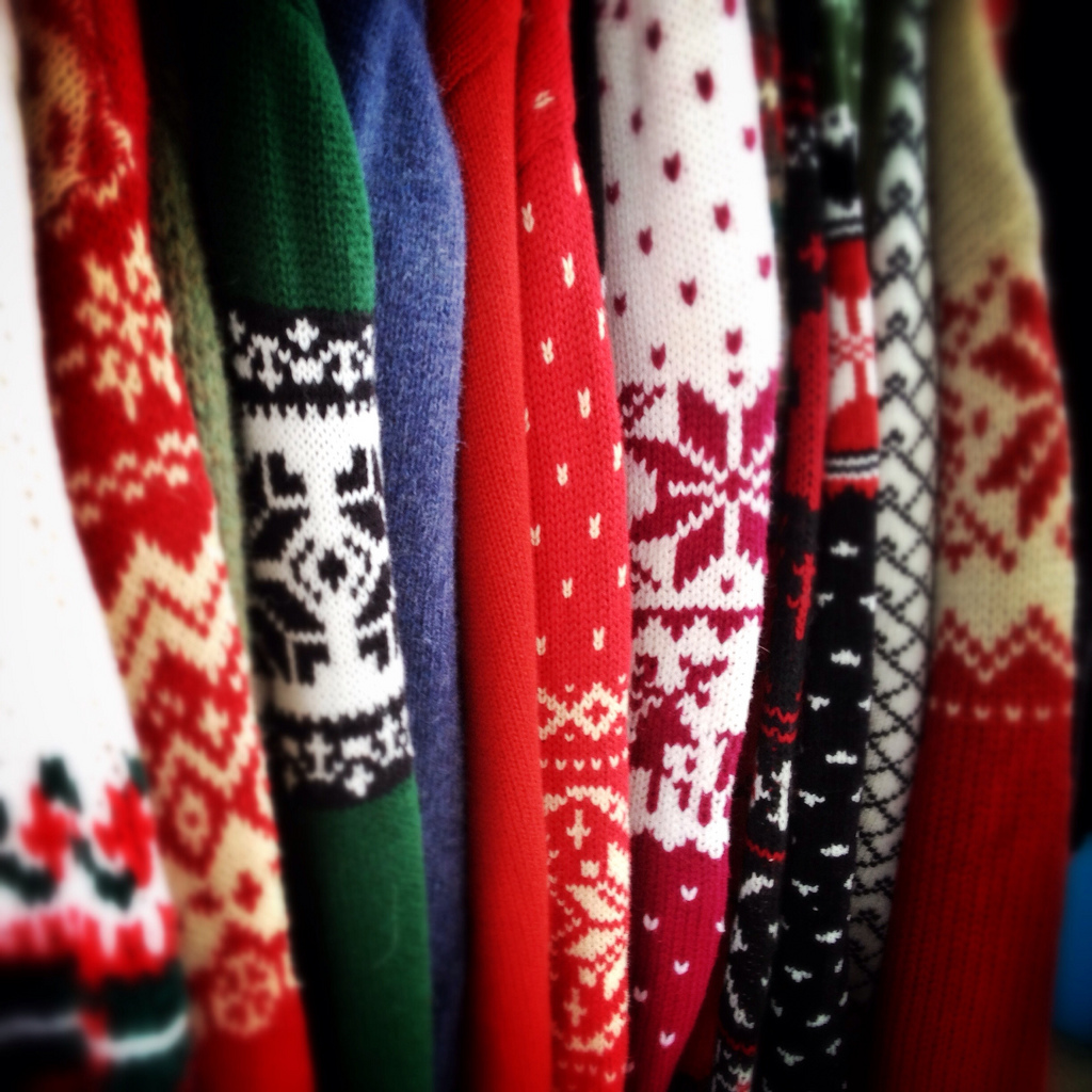 Ugly Christmas Sweater Parties in Miami