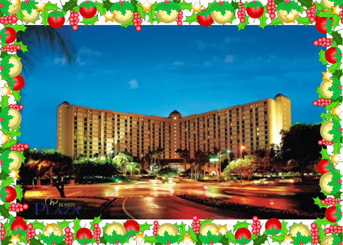 It's Not Too Late! Book Your Christmas Holiday Trip In Orlando With The Rosen Plaza