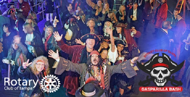 Gasparilla Bash is Live Music, Dancing and a Whole Lotta Fun All For a Good Cause