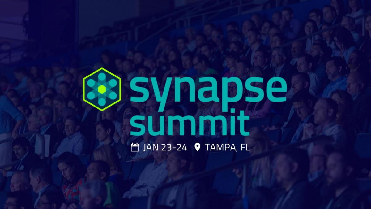 Exciting Speakers Featured At Synapse Summit in Tampa January 23-24