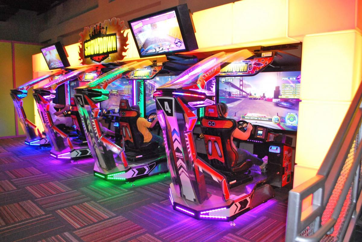 Show Off Your Arcade Gaming Skills During Your Spring Break and Summer Camp Trips At GameTime!