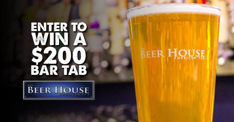 The Beer House American Pub | Win a $200 Bar Tab!