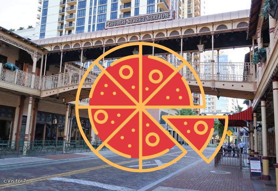 PizzaPalooza Hosts Orlando's Biggest Pizza Party On Church Street!
