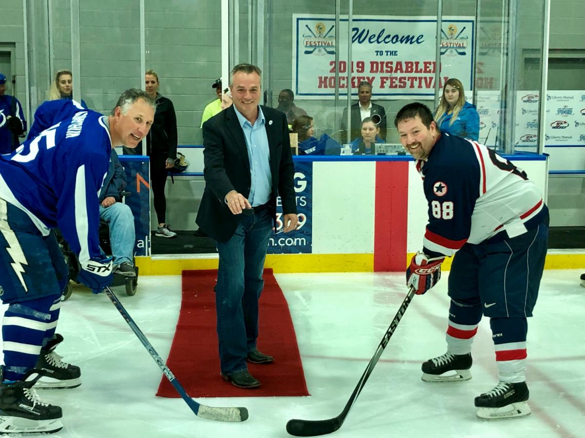 15th Annual Disabled Hockey Festival in Wesley Chapel Shows Hockey is For Everybody