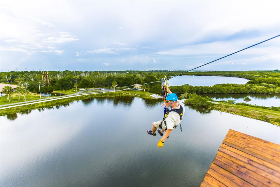 Where to Zip Line in Tampa Bay