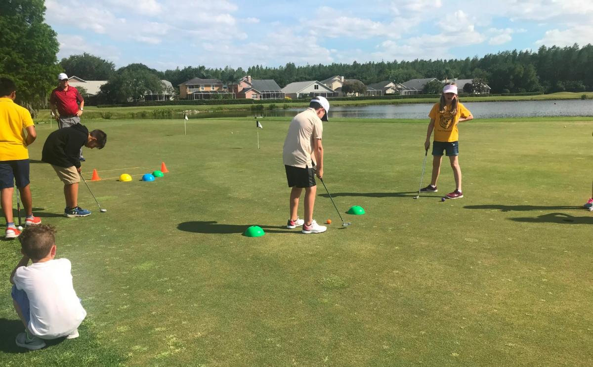 The Cheval Golf & Athletic Club Offers Fun Summer Golf Camps For Children Of All Ages!