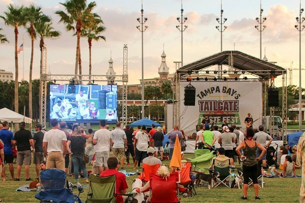 Tampa Bay's Tailgate Taste Fest Returns to Curtis Hixon Bringing Football, Food and Fun on Saturday, October 5th