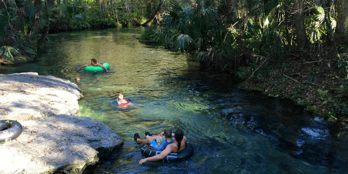 Where To Go Tubing In The Orlando Area