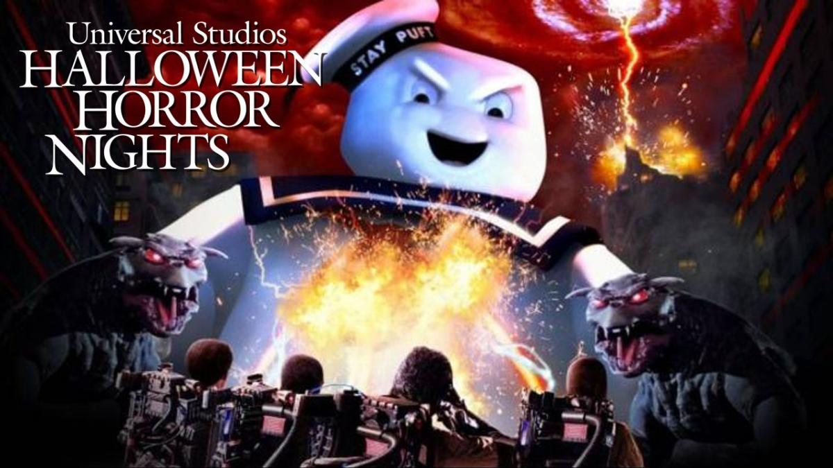 Who You Gonna Call? Ghostbusters Haunted House Added To Universal Orlando Halloween Horror Nights