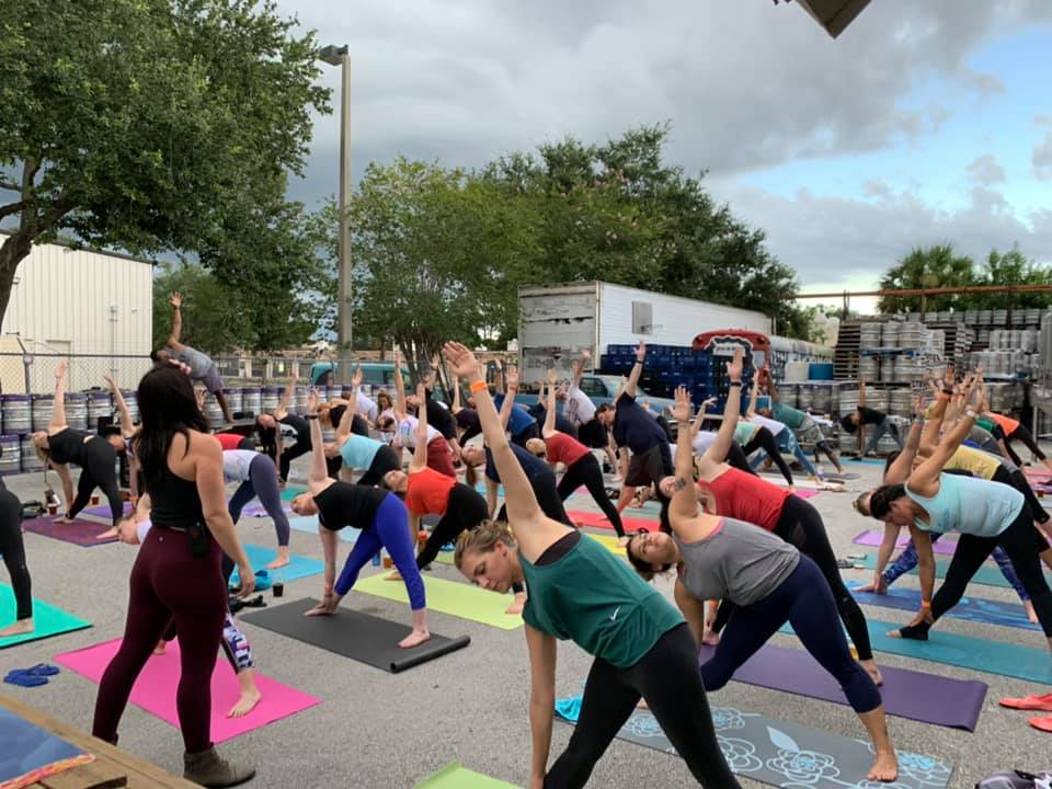 7 Cool Yoga Classes at Central Florida Breweries