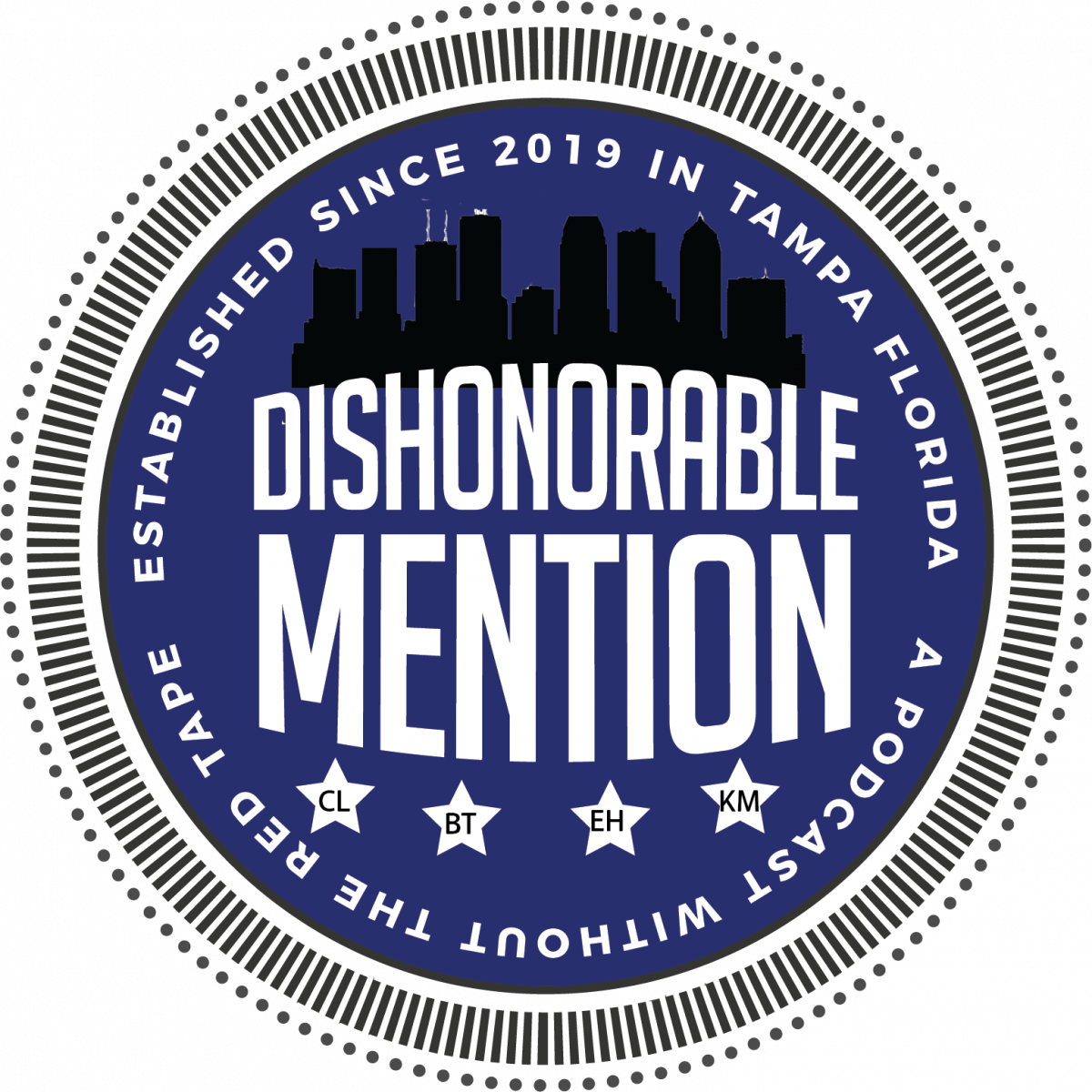Dishonorable Mention Podcast Episode 26: DM with the Rays! Featuring President Brian Auld